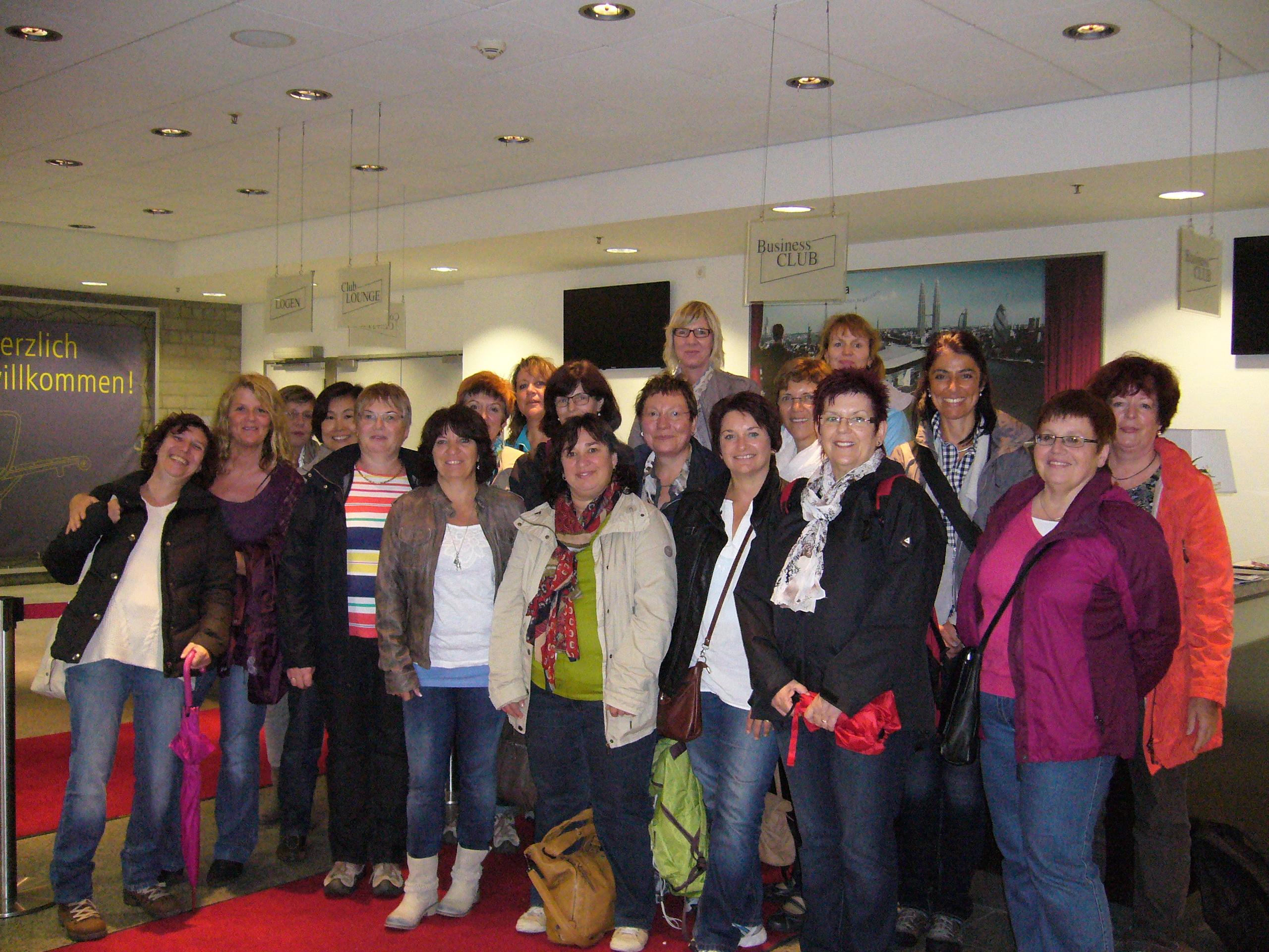 Ausflug des Frauenchores in die Quadratestadt Mannheim - GV Frohsinn ...